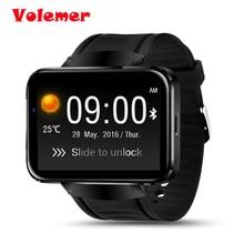 Volemer Горячие DM98 Bluetooth Smart часы 2.2 дюймов ОС Android 3 г SmartWatch телефон RAM512MB + ROM4GB Поддержка Камера GPS сим-карты Wi-Fi