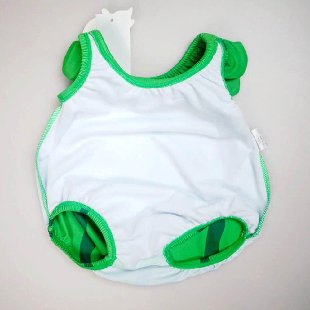 Jednoczęściowy słodkie stroje kąpielowe dla dzieci z kapeluszem - Odzież dla niemowląt - Zdjęcie 6