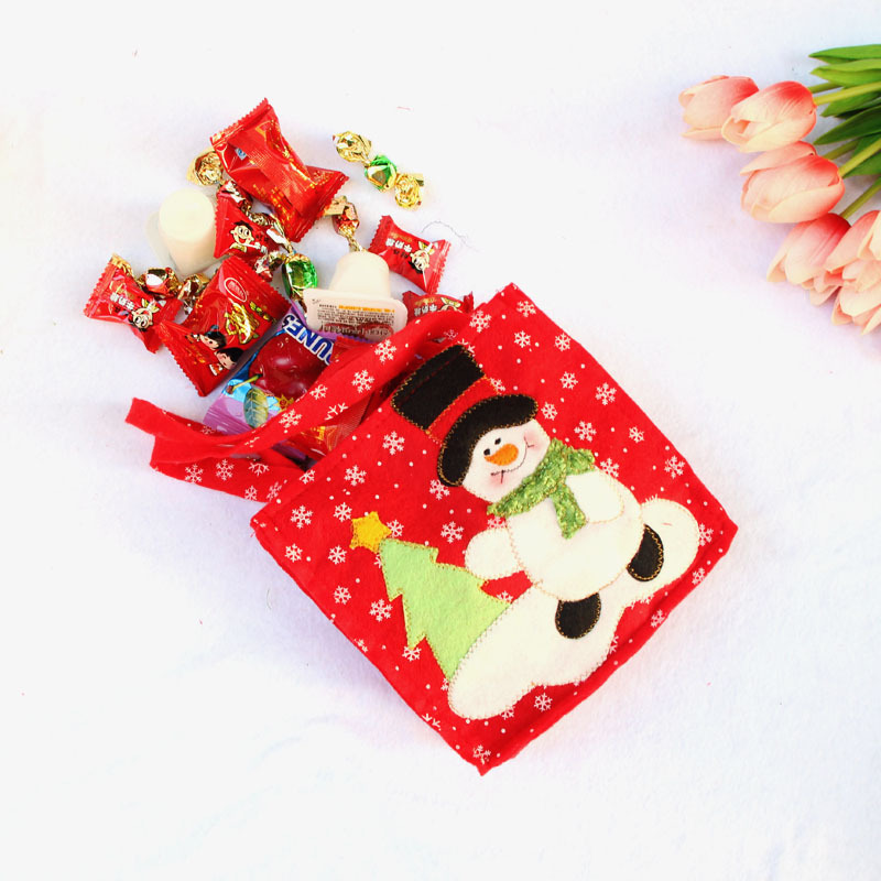 c39ca86e1c68 Creative Christmas Tree Snowman Santa Claus Candy Bag Handbag Home Party  Decoration Gift Bag Christmas Supplies-in Stockings   Gift Holders from Home  ...