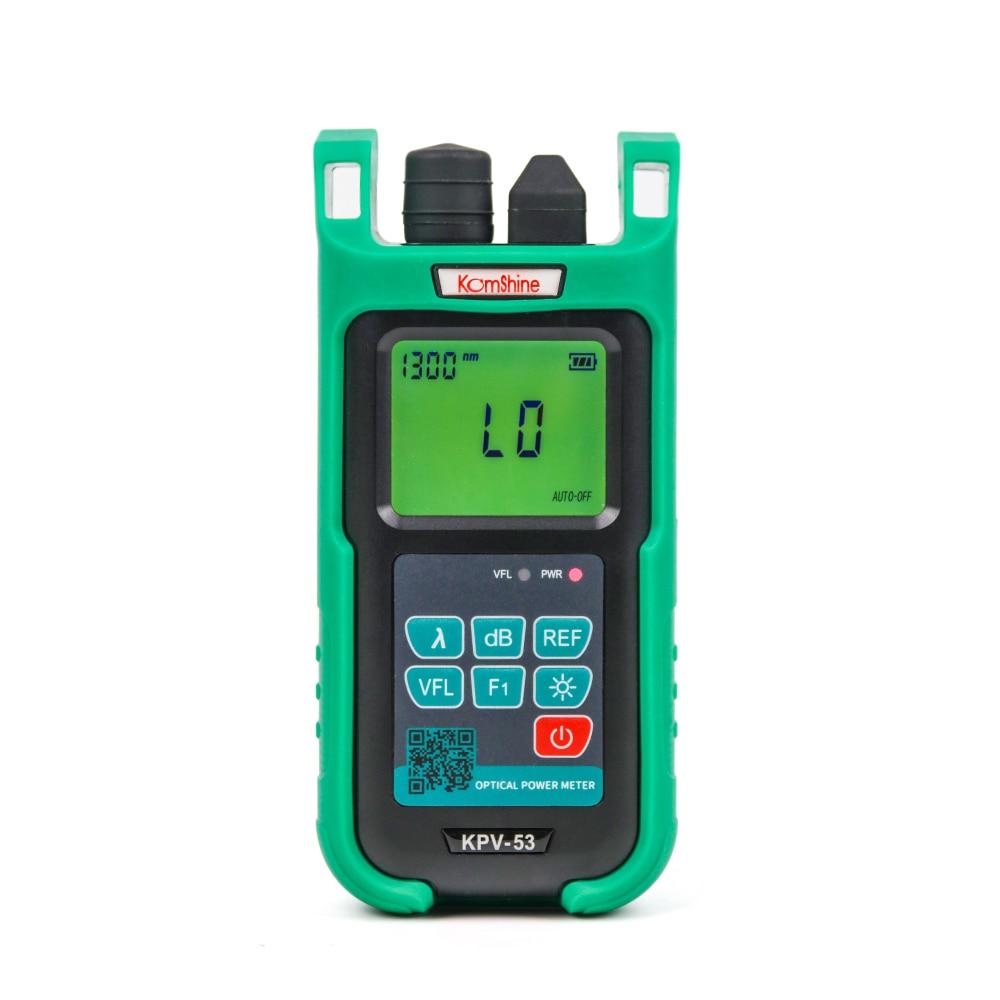 Komshine новый обновленный KPV 53 2 в 1 Оптический измеритель мощности встроенный 10 мВт VFL medidor de фибра с светодиодный подсветка-in Оптоволоконное оборудование from Мобильные телефоны и телекоммуникации on AliExpress - 11.11_Double 11_Singles' Day