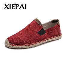2b847de3a7dd06 Hommes chaussures décontracté mâle respirant toile chaussures hommes  chinois mode doux sans lacet Espadrilles pour hommes