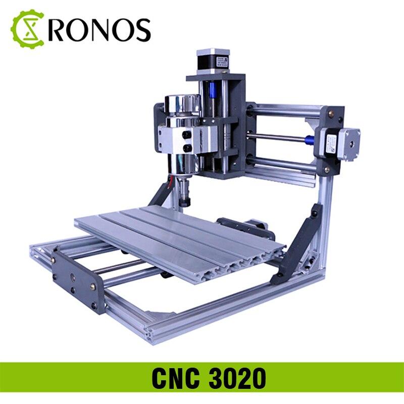 CNC 3020 Máquina de Gravação A Laser 30*20 cm Área de Trabalho CNC Máquina, placa De Controle do Driver GRBL DIY Madeira Router Fresadora PCB