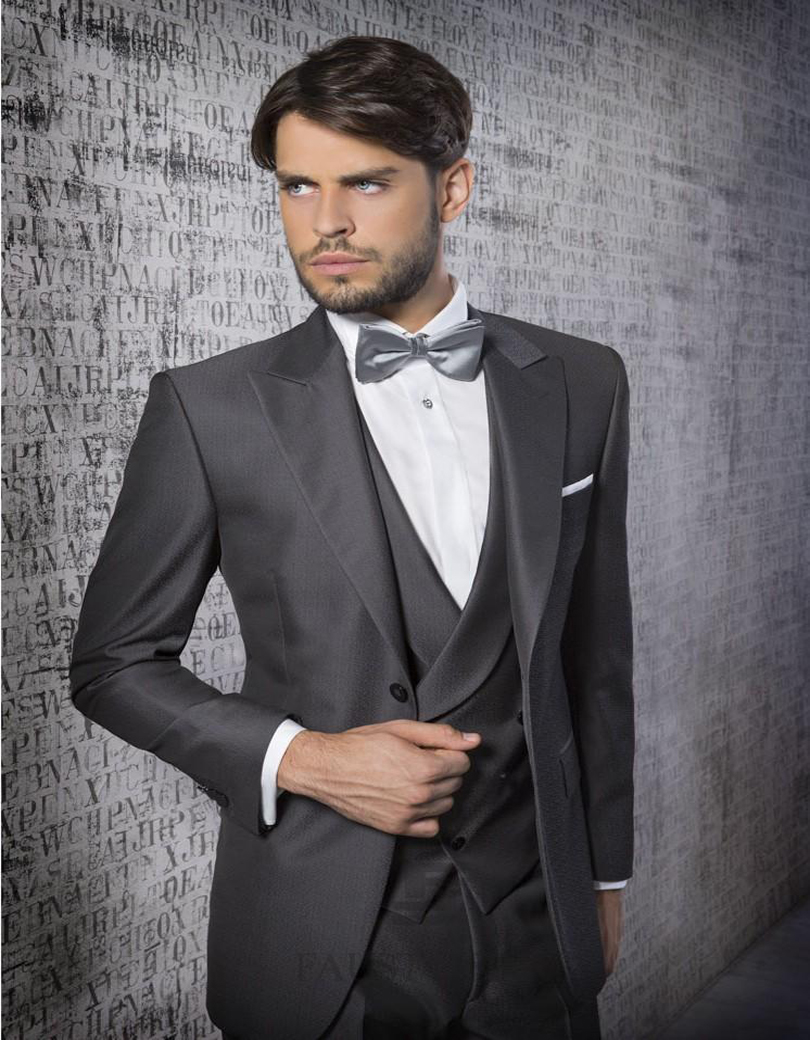 Beautiful Dark Grey Suit Wedding Contemporary - Styles & Ideas ...