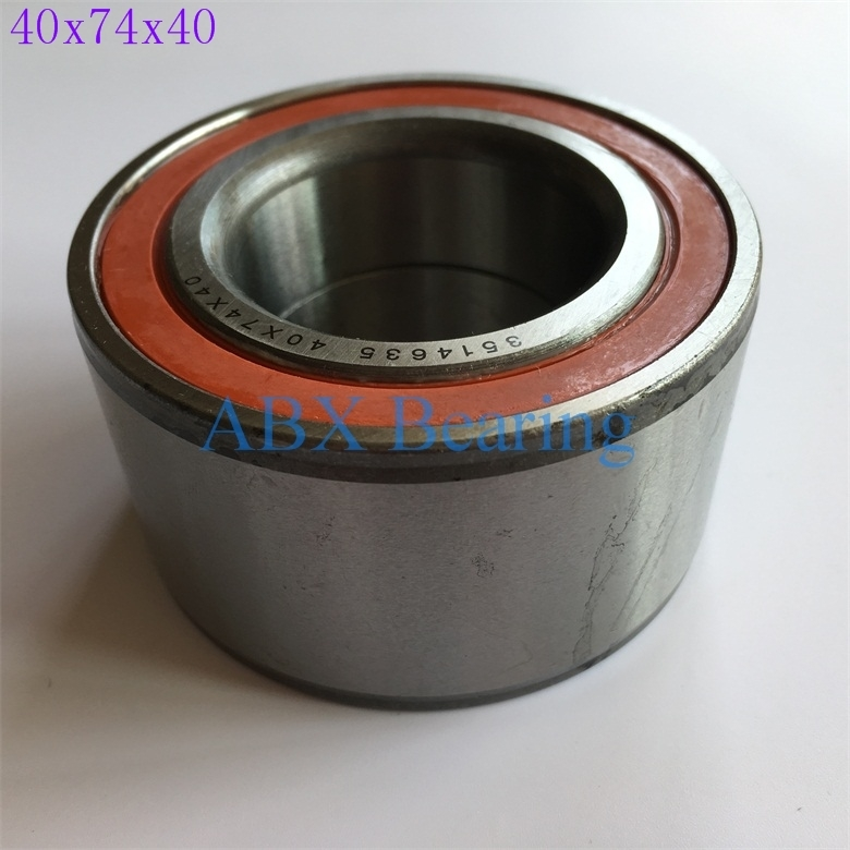 2pcs/lot DAC40740040 DAC4074W DAC4074 DAC407440 auto wheel hub bearing size 40*74*40 mm 40x74x40 mm dac43760043 dac437643 dav4376 43bwd12 510060 auto wheel hub bearing size 43 76 43mm 43x76x43mm iron shield