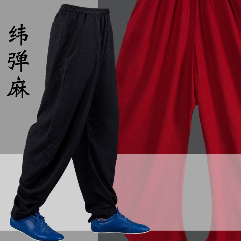 High Quality Kung Fu Tai Chi Pants Bloomers Wushu Martial Arts Wing Chun Clothing Training Trousers Yoga Pants Acrobatics Pants