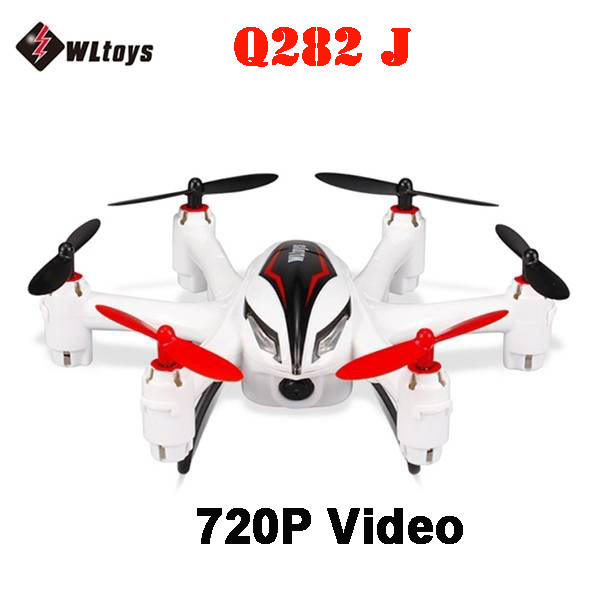 ФОТО WLtoys Q282J 2.4G 4CH 6Axis with 720P 2.0MP HD Camera RC Hexacopter RTF
