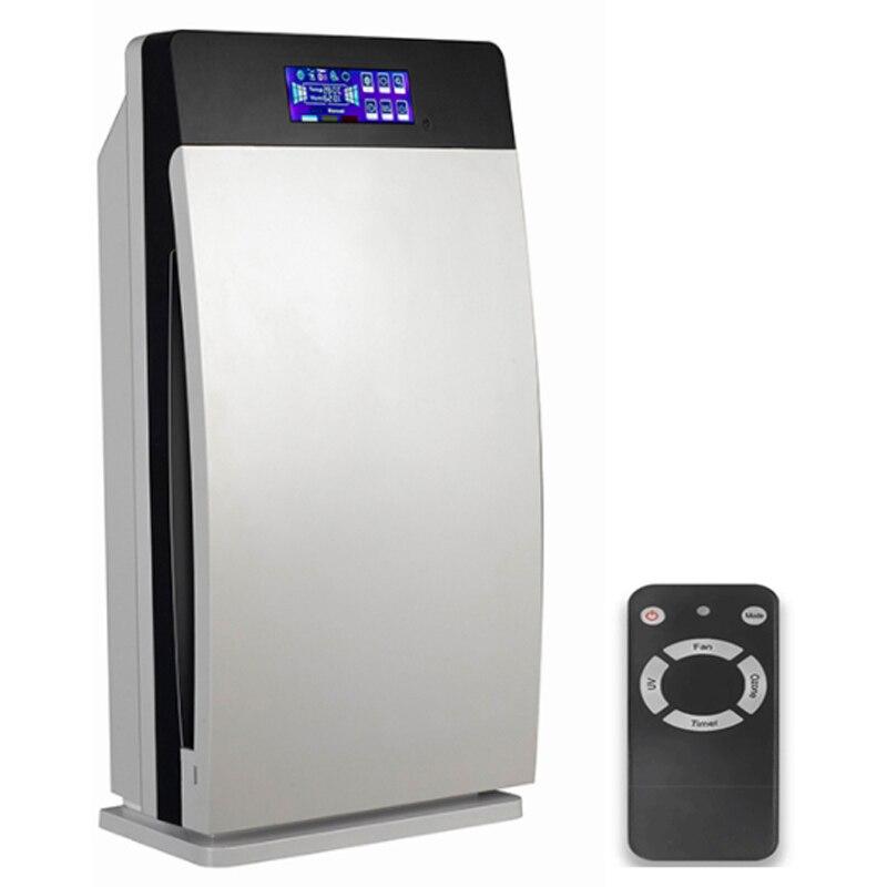Умножьте очиститель воздуха HEPA, активированный, уголь, озон, отрицательные ионы, UV, освежитель воздуха GL 8138 для домашнего офиса с CE FCC ROHS