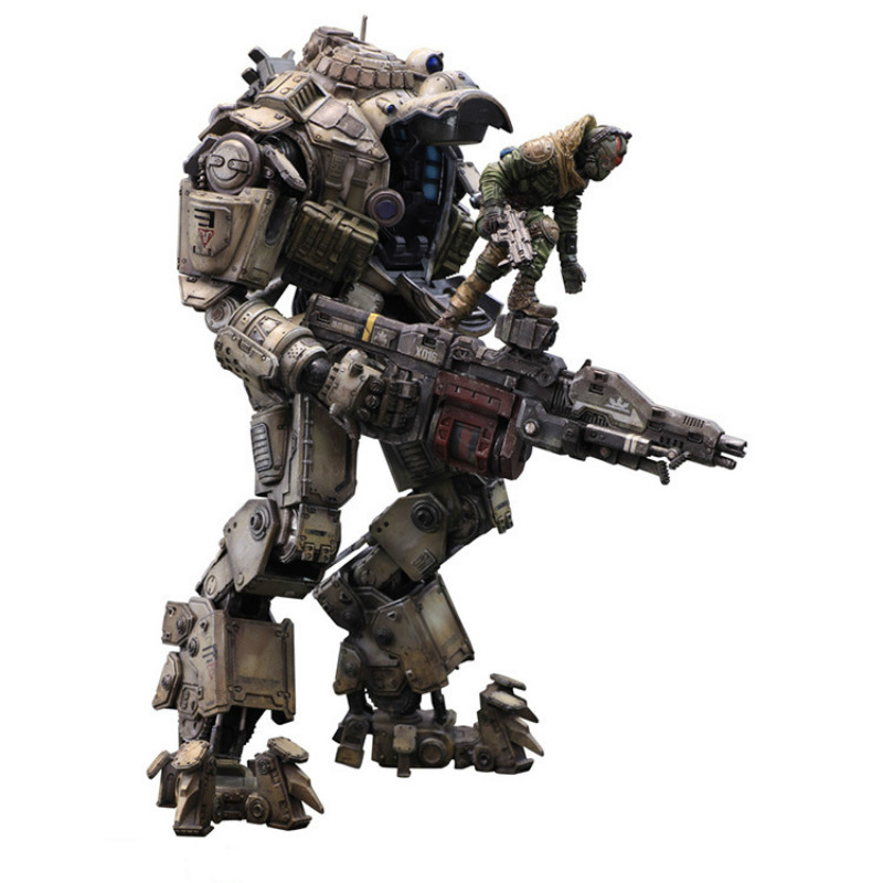 1pc New 26cm Movable PVC Play Arts Pa Kai Action Figure Atlas Titanfall Titan Fall Model Toy Collection Cartoon Model Xmas Gift