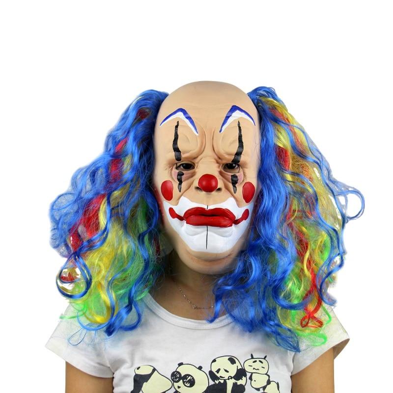 Scary Halloween Clown Mask 1