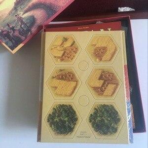 Image 4 - Catan לוח משחק משפחת קלף משחק צעצועים חינוכיים נושא אנגלית מקורה צד שולחן ספקי צד
