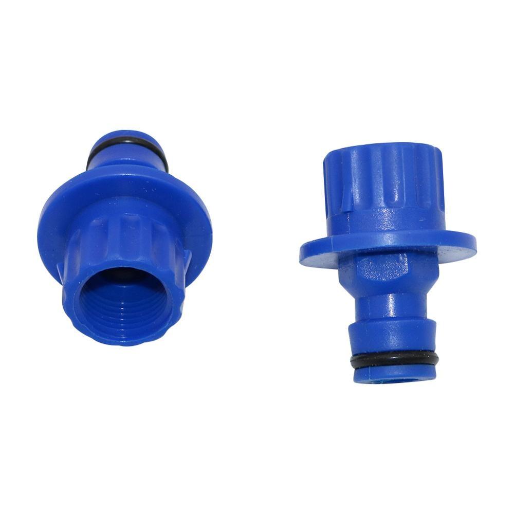 18mm Diaphragm Pump Nipple Connectors Agriculture Tools Garden Irrigation Water Pump Adapter Car Washer Pump Coupling 5 Pcs