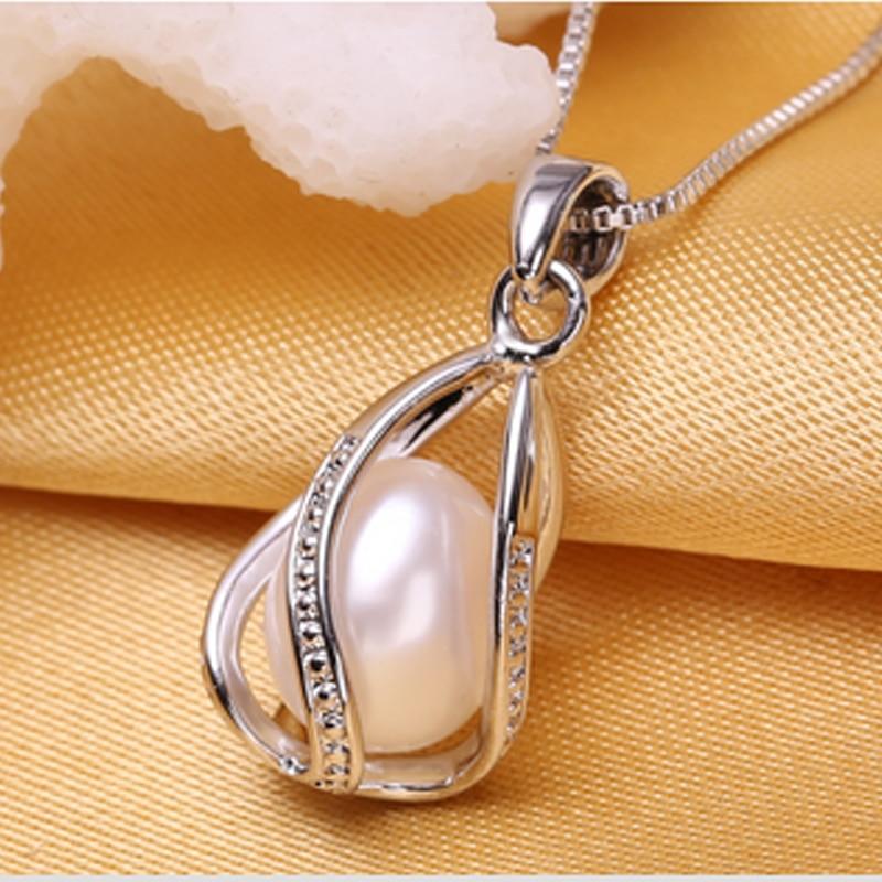 WATTENS Перла бижута, естествена перлена - Модни бижута - Снимка 3