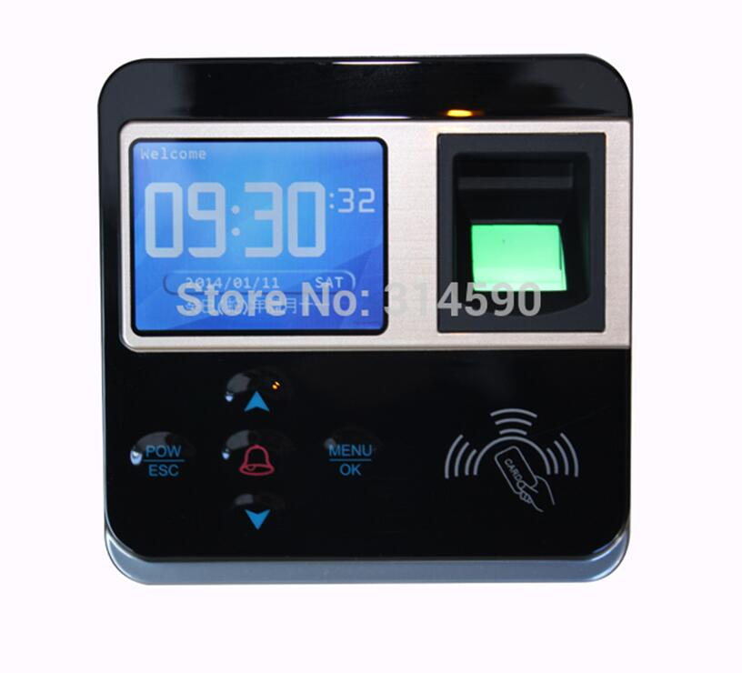 Spanish Language 125Khz RFID Card and Fingerprint Access Control Machine with TCP/IP Color Screen Time Clock