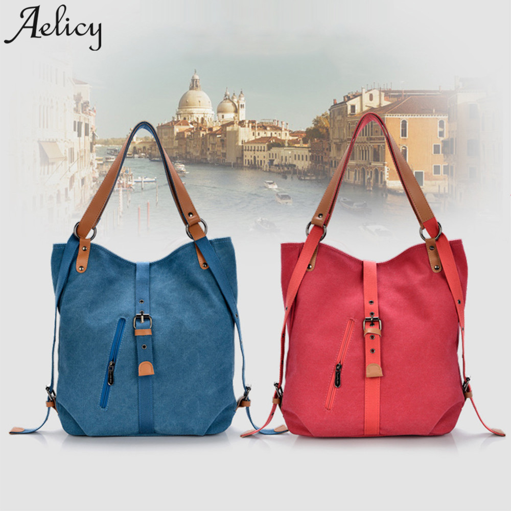 Bags For Canvas Totes Vintage  Female Hobos Lady Shoulder Bags Bolsa Feminina Mujer