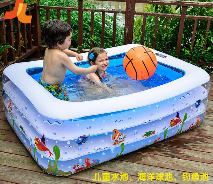 Thick Adult Swimming Pool Family Inflatable Pool Children 39 S Pool Baby Bath Tub A Wholesale Bean