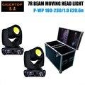 Caso Do vôo Embalagem 2em1 230 w sharpy 7r feixe de luz em movimento da cabeça luz, iluminação moving heads feixe 7R 230 pro/sharpy 7r movendo a cabeça feixe