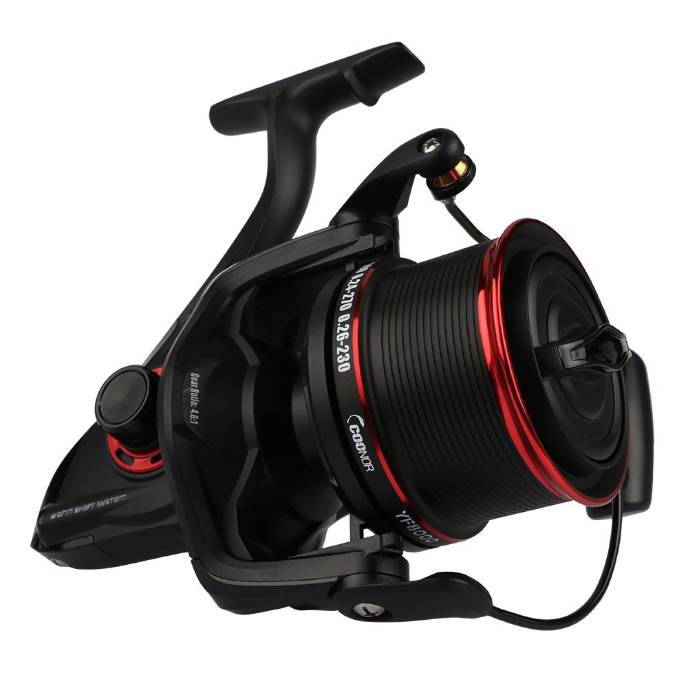 Long Shot Saltwater Spinning Fishing Reel Surf Casting Reel with Spare Spool