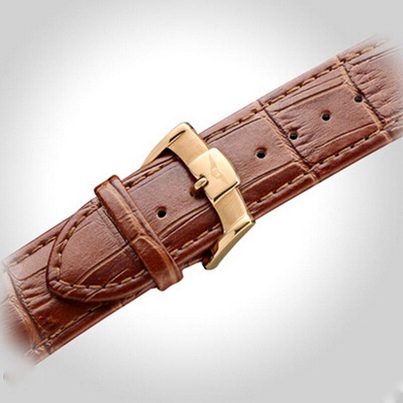Часы со скелетом GUANQIN, модные мужские часы с большим циферблатом, 10 бар, автоматические часы для плавания, фаза Луны, светящиеся турбийон, механические часы - 5