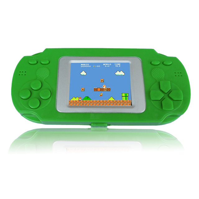 2 Inch Color Screen Display Child Portable Handheld Game Retro Video Consoles Game Players Built-in 268 Childhood Classic Games