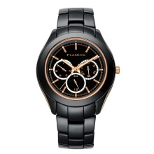 FLAMING Hero Series Fashion 4 Models Miyota Quatz Movement Watches Men Wristwatches with Calendar and 24-hours and Gifts