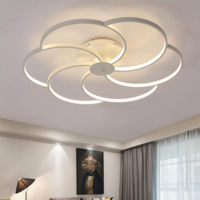 Us 97 29 30 Off Modern Fashion Led Chandeliers High Bright Chandelier Lighting Lamps Energy Conservation Luustre Light Droplight 3 In