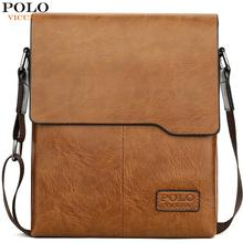 VICUNA POLO Classic Famous Brand Soft Leather Man Messenger Bags With Wallets Male Business Bag Set Casual Mens Crossbody Bags цена 2017