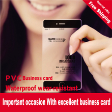 transparent PVC fine frosted plastic specialty paper business CARDS personality customization