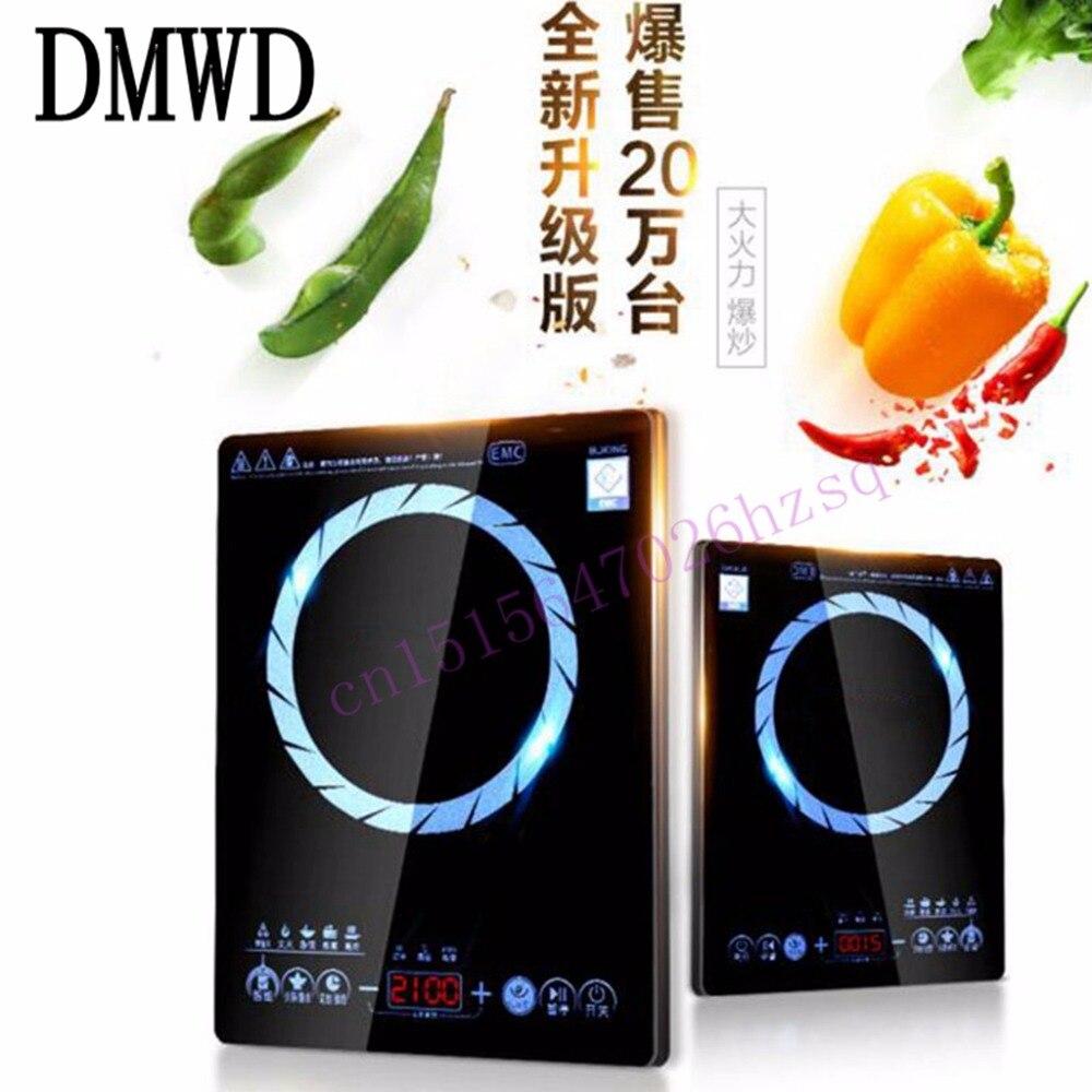 DMWD Household Ultrathin Induction Cooker  Touch Screen Waterproof Energy Saving Overheat Protection multi function touch screen reserved induction cooker
