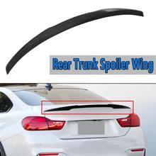 Задний багажник спойлер крыло для BMW 4 серии головной производитель F32 F82-17 M4 Стиль ABS Пластик черный спойлер заднего крыла сзади крыша багажника крыло 120 см