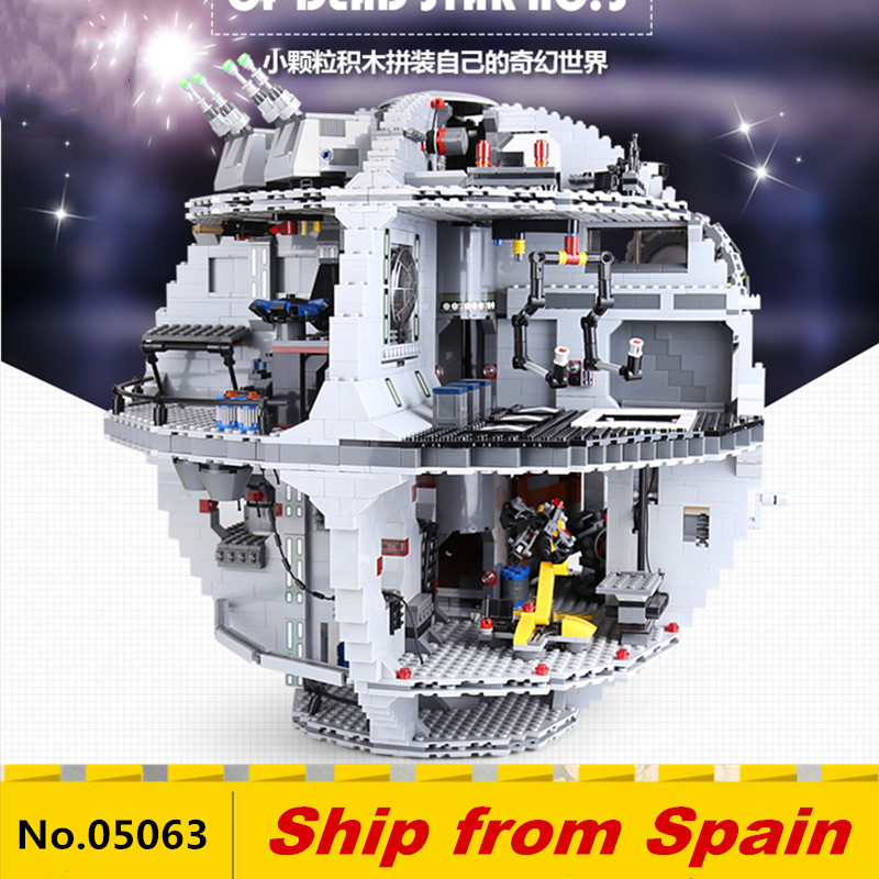 05063 Star War Series The Death Model Star Building Block LepinBricks Kids DIY Toys Compatible With 75159 Christmas Gifts