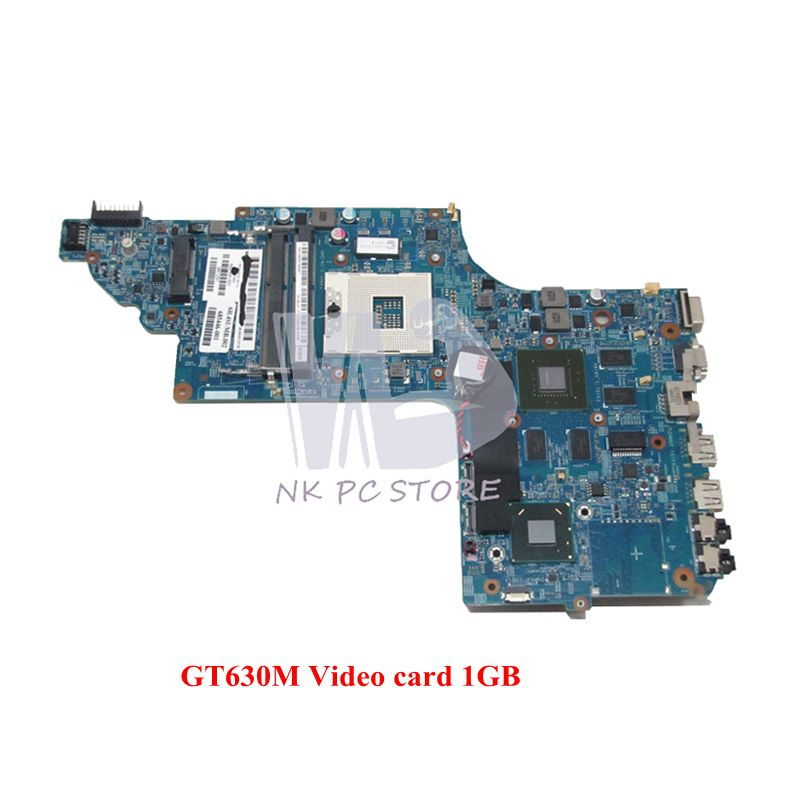 NOKOTION 682000-001 Main Board For HP DV7-7000 Laptop Motherboard 48.4ST10.031 HM77 DDR3 GT630M 1GB Video Card sheli laptop motherboard for hp pavilion dv6 7000 682169 001 48 4st10 021 ddr3 gt630m 1gb non integrated graphics card
