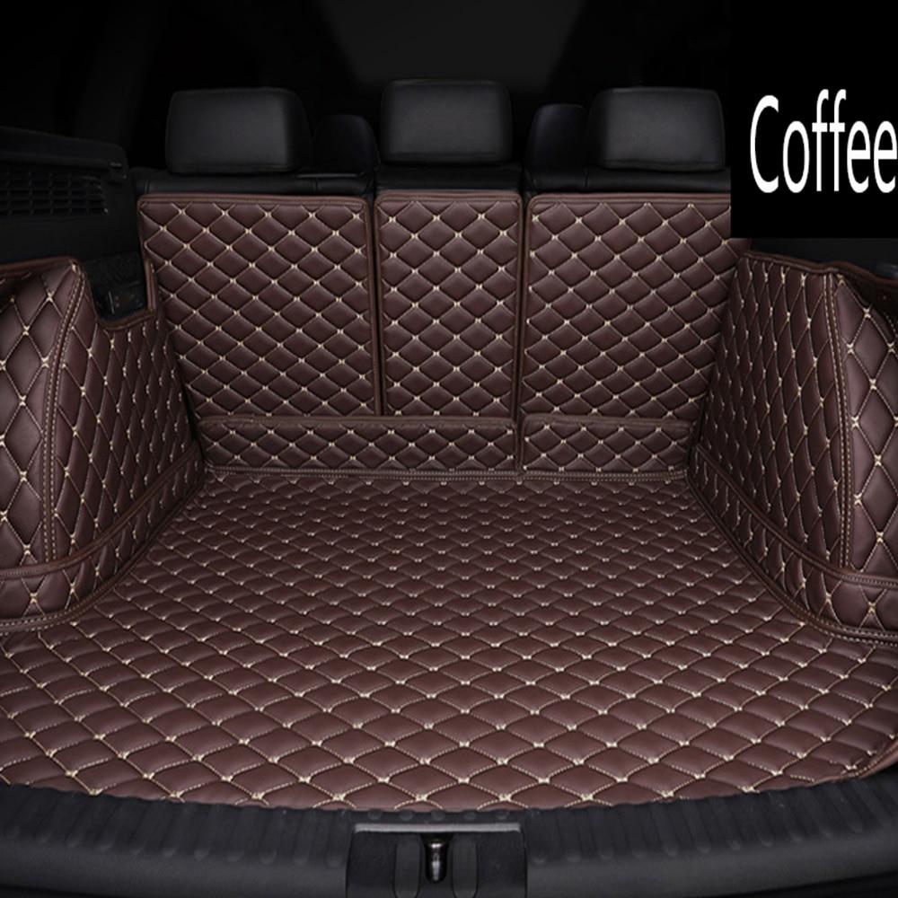 Tapis de coffre de voiture sur mesure pour Subaru Forester Legacy Outback XV 6D tapis de sol robuste tout temps l