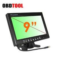 Car TV 9 Inch LED Car Monitor Rear View Blind Spot Video Surveillance System Universal 12V 24V Vehicle Display Screen JC10