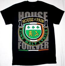 HOUSE OF PAIN FOREVER FINE MALT LYRICS DJ LETHAL NEW BLACK T-SHIRT Summer T-Shirt Brand Fitness Body Building