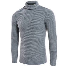Men Turtleneck Sweater High Quality 2017 New Fashion Slim Fit Casual Winter Warm Sweater for Men Sueter Men Men Pullover SW05