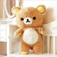 100 см Сан X гигант Rilakkuma Relax Медведь Симпатичные мягкие плюшевые игрушки чучело медведя детские куклы лучший подарок
