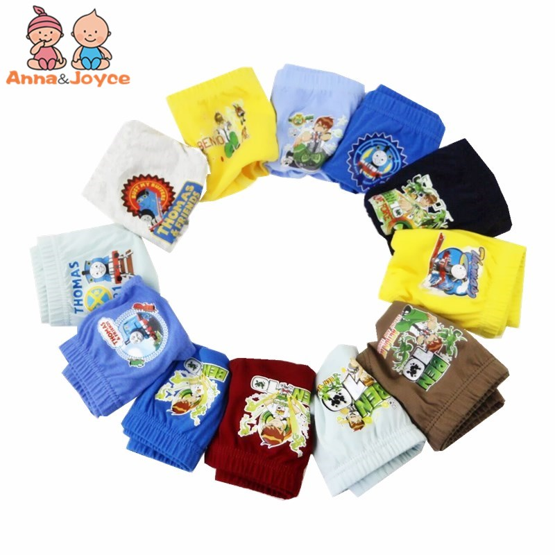 12pcs/lot cartoon boys briefs panties  baby boys  underwear panties baby underpants