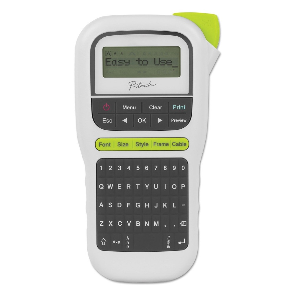 Lxhcoody P-Touch Handheld label Marker Machine For Brother PT-H110  WORKS W/4 SIZE LABELS for brother label printerLxhcoody P-Touch Handheld label Marker Machine For Brother PT-H110  WORKS W/4 SIZE LABELS for brother label printer