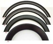 700C 30/38/45/50/60/88 мм, глубина 25 мм, ширина, полностью Углеродные велосипедные диски, клиншер/трубчатый дорожный велосипед, одиночный обод, 3k/UD матовая отделка