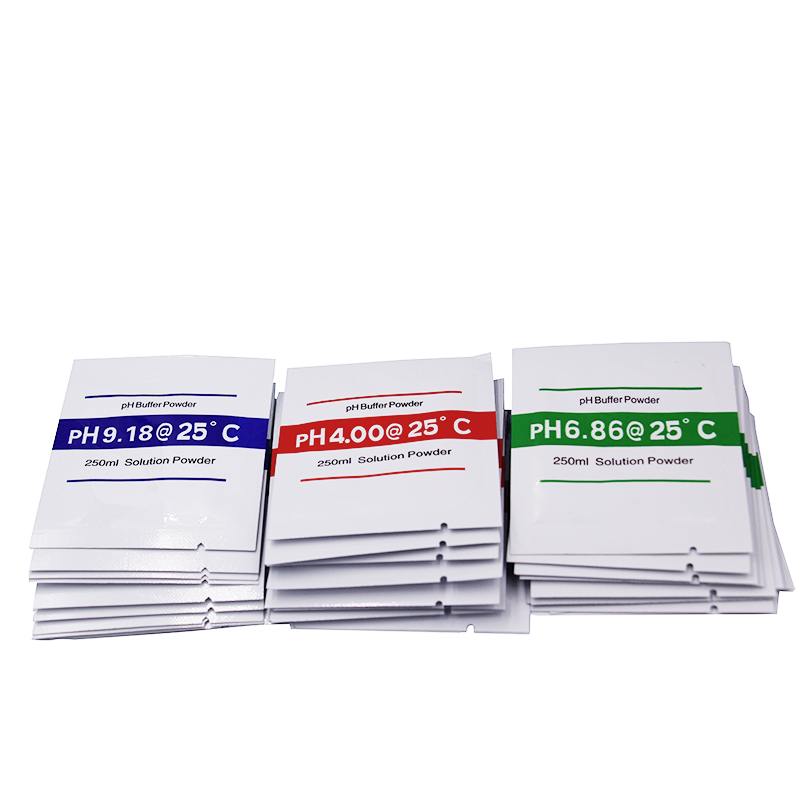 300Pcs Lot PH Buffer Powder PH Meter Test Solution Powder Measure Calibration Solution 4 00 6