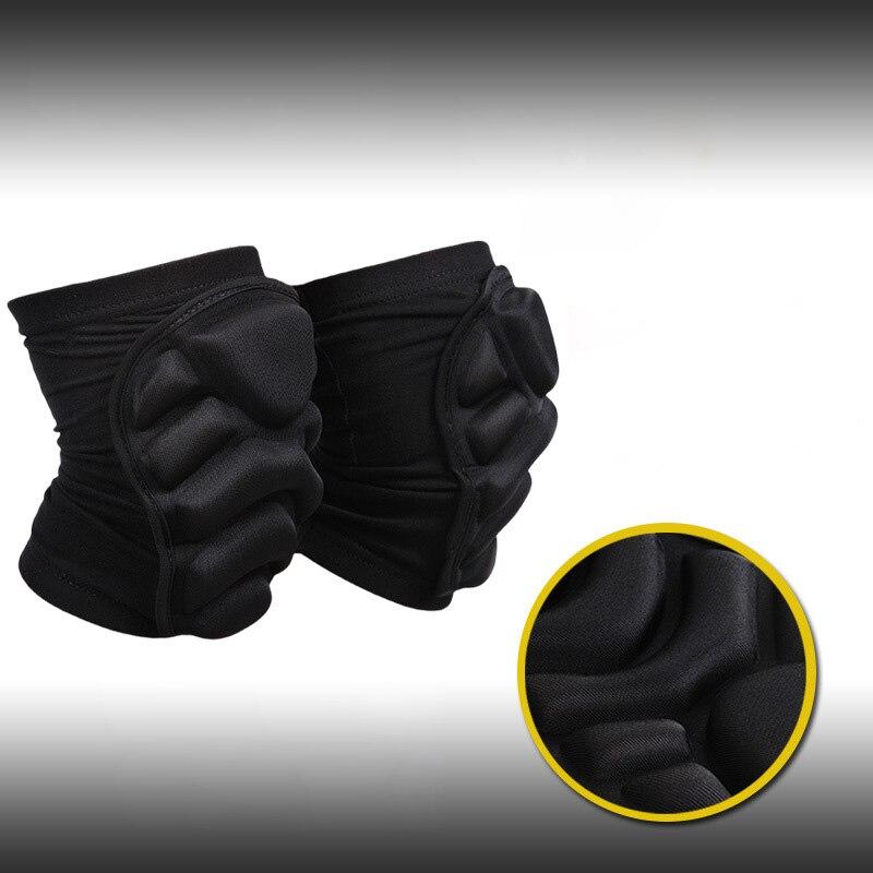 YEL Новый 1 пара Scotch колена протектор сжатия Носки наколенника волейбол скейтборд защиты Спортивная безопасность Лыжный спорт наколенники