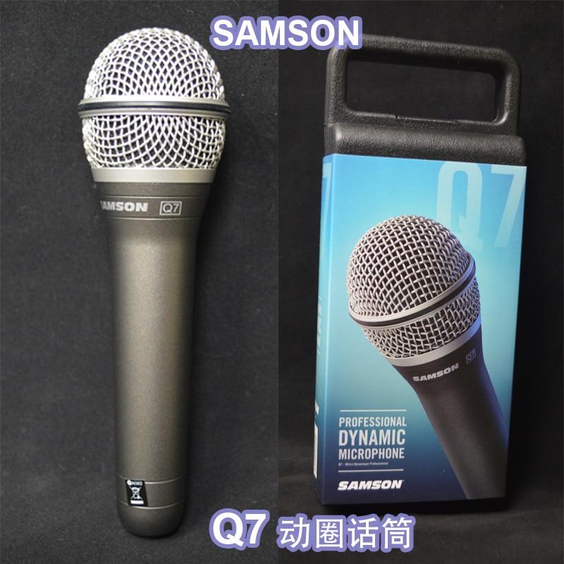 Samson Q7 Handheld Dynamic Microphone for Karaoke, live concert High Quality jean luc ponty live in concert