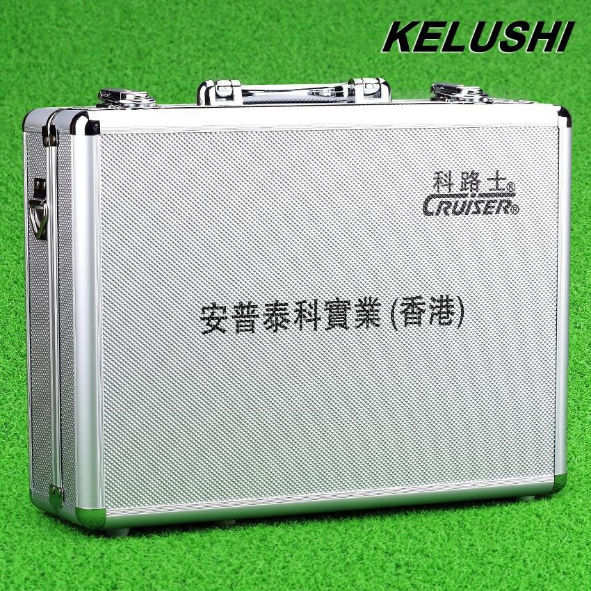 imágenes para Precio al por mayor caja de herramientas de hardware de red de fibra FTTH caja de herramientas de unión fría KELUSHI vacío de plata de Aluminio con Alta Calidad
