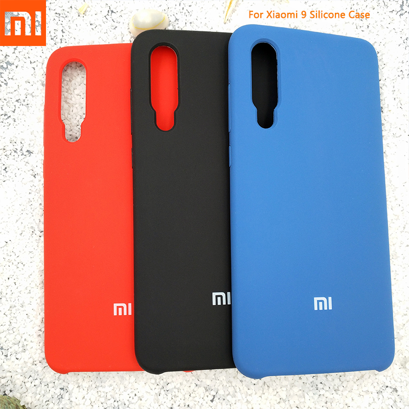 Xiaomi Smooth-Protective-Cover Mobile-Phone-Bag Liquid Silicone Silky 9-Case Soft-Touch