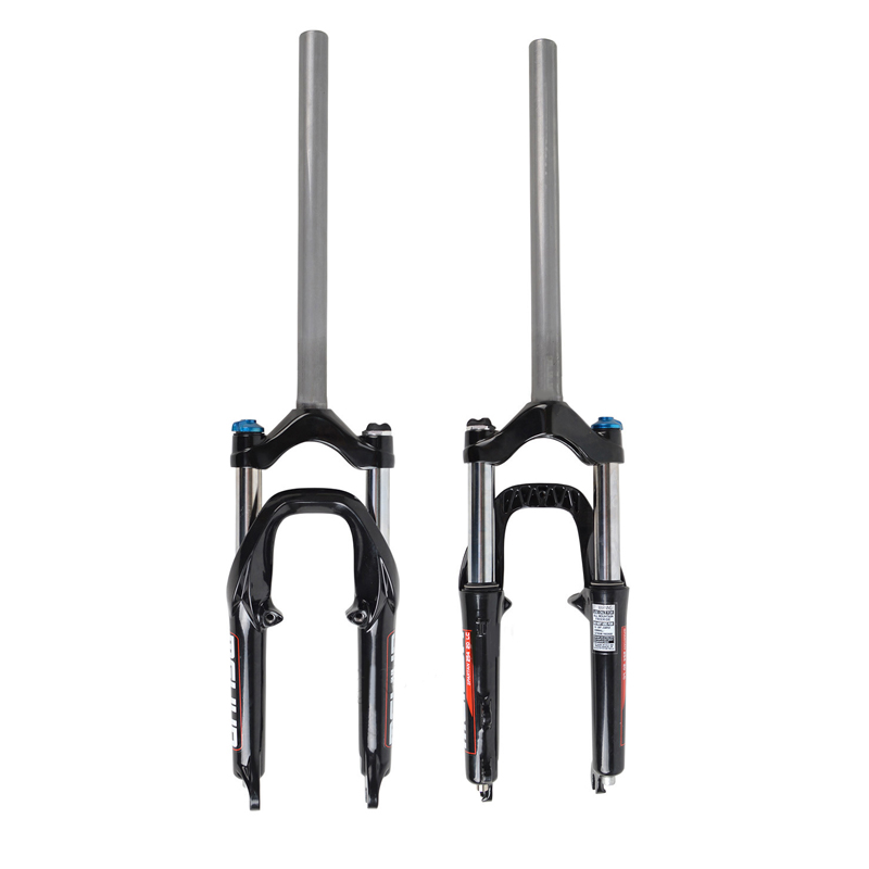 MTB Bicycle Mountain Bike 20 inch Front Fork Oil Damping Locked Oil Fork Bicycle Front Shock Absorber Modified Parts mountain bike four perlin disc hubs 32 holes high quality lightweight flexible rotation bicycle hubs bzh002