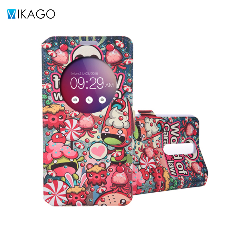 Painted PU Leather Stand Flip 5.5for Asus Zenfone 2 ZE551ML Case For Asus Zenfone 2 ZE551ML Cell Phone Cover Case