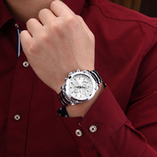 2017 CURREN Luxury Brand Men Full Steel Business Wristwatches Man Casual Waterproof Watch Quartz Watches relogio masculino 8025
