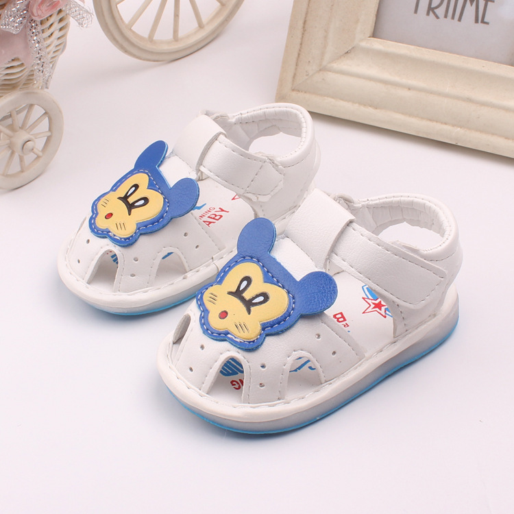 f10cd9f1c1e5 2016 Summer Children s Shoes Cartoon Baby Boys Sandals Girls Soft Infant  Shoes For Kids 1 3years-in Sandals from Mother   Kids on Aliexpress.com