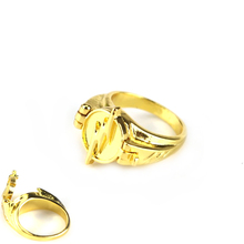 The Flash Reverse-Flash Reverse Flash Finger Rings Gold Plated Cosplay Prop Clamshell Ver Engagement Party Rings Wedding Jewelry