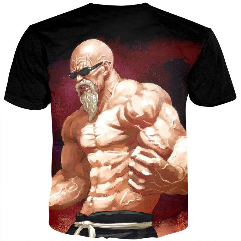 Summer T Shirts Men Anime Print Dragon Ball 3D T-Shirt 1